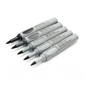 ArtMarker, brush nib 0,5-7 mm: s'more tones of Grey