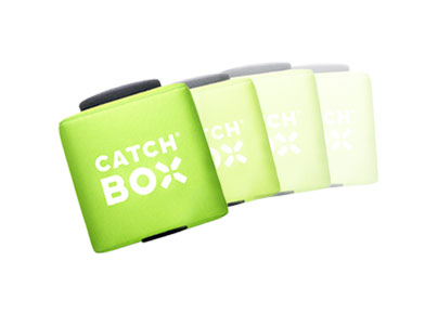 Catchbox automute
